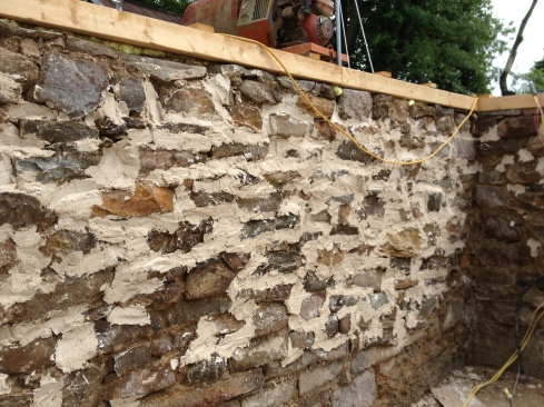 new lime mortar