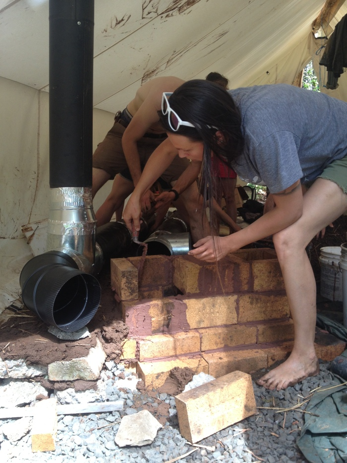 building heat riser