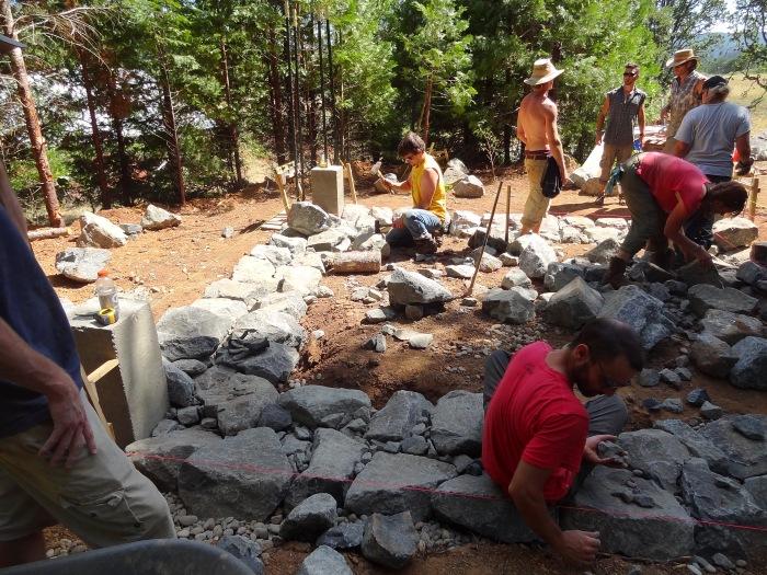 shaping stone